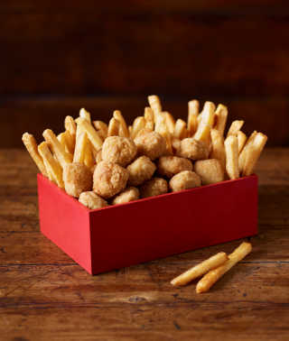 Snack Box Popcorn Chicken