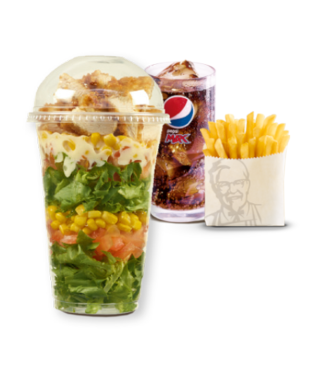 Zinger® Salad Pot Meal