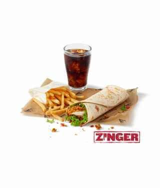 Zinger® Twister Meal