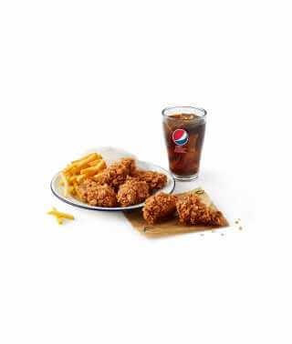 6 Hot Wings® Meal