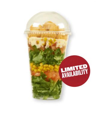 Popcorn Chicken Salad Pot