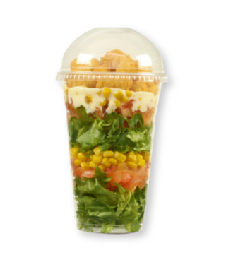 Popcorn Chicken Salad Pot