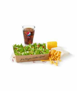 Plain Salad Meal