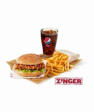 Zinger® Burger Meal